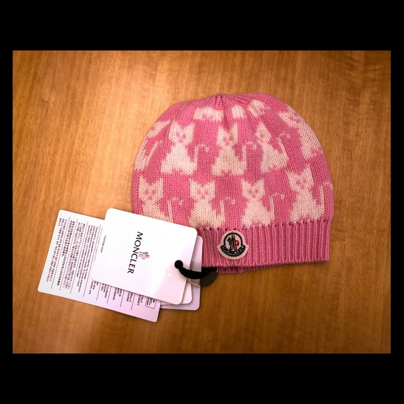 Moncler- Toddler Authentic Girls Hat fc373a900eb4